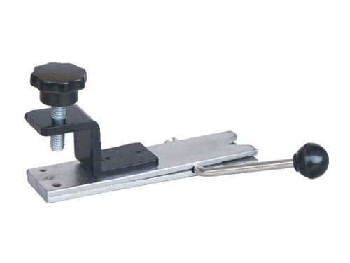 bench pin v-slot with vise (all steel)