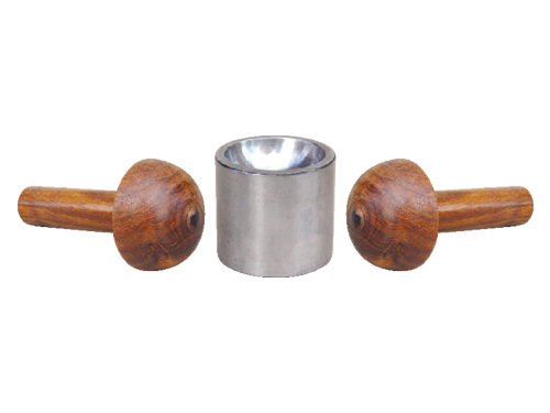 Large Dapping Die Steel With Two Wooden Punch