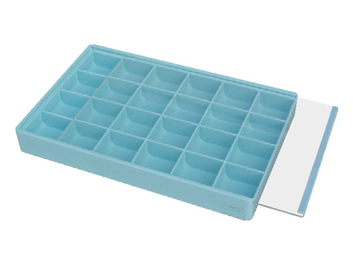 Plastic Tray 18 Compartment Large